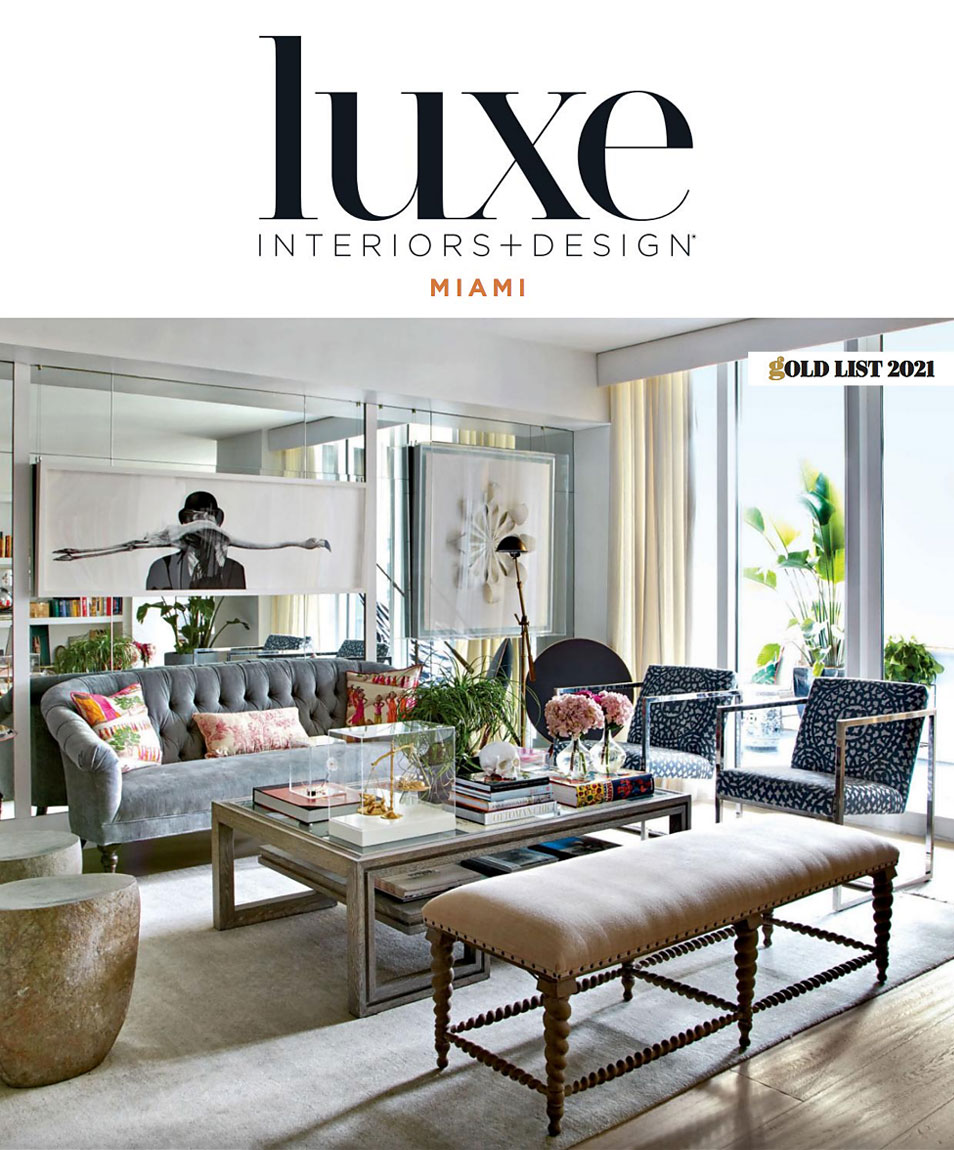 Luxe Magazine Gold List Article
