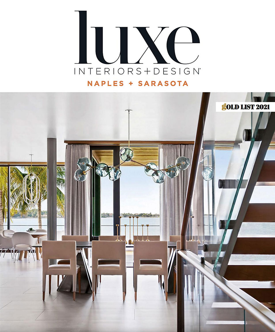 Luxe Naples and Sarasota Gold List