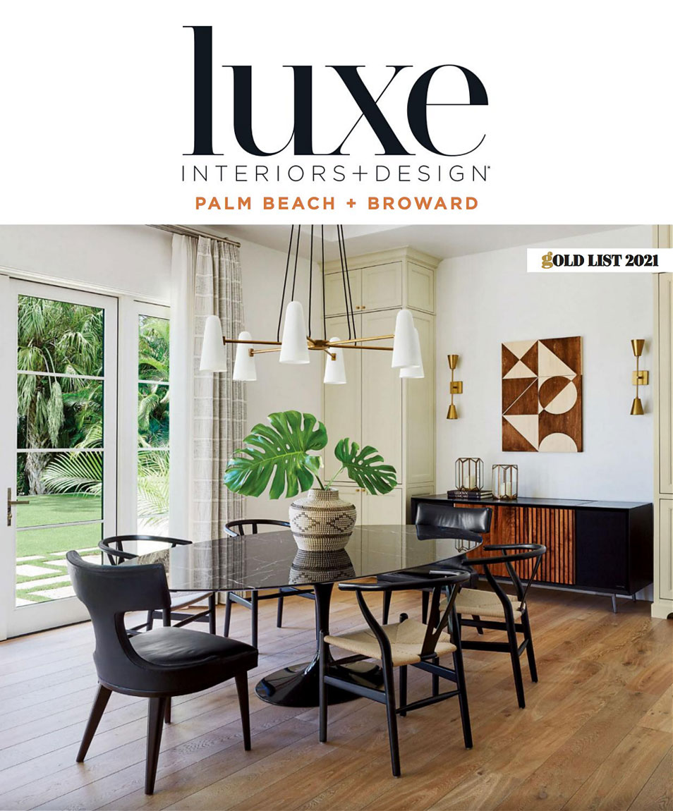 Luxe Palm Beach and Broward Gold List